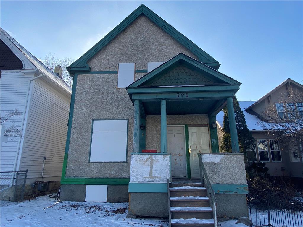 346 Redwood Avenue, Winnipeg, Manitoba  R2W 1S2 - Photo 0 - 202029588